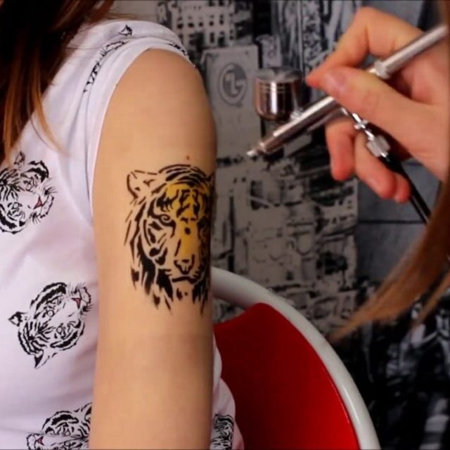Airbrush tattoos