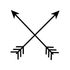 Скрещенные стрелы